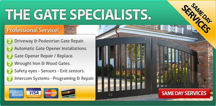 Gate Repair Westlake Village CA